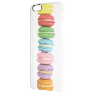 Macarons iPhone 6 Plus Clear Case