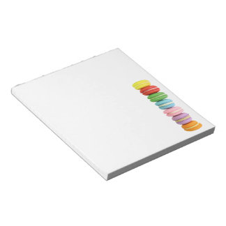 Macarons Note Pad