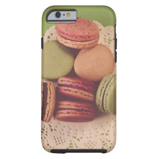 Macarons on Green Tough iPhone 6 Case