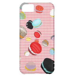 Macarons Paris Pastry Vichy Pattern iPhone 5C Case
