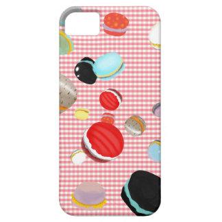 Macarons Paris Pastry Vichy Pattern iPhone SE/5/5s Case