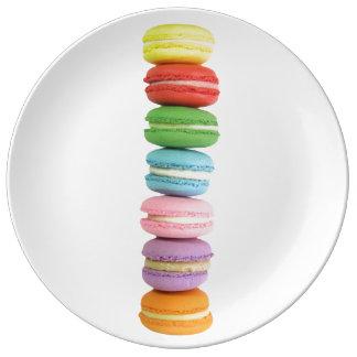 Macarons Plate Porcelain Plates
