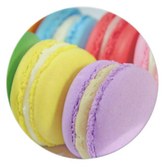 Macarons Plato Para Fiesta