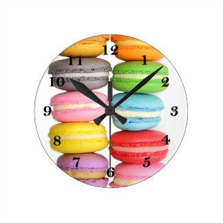 Macarons Reloj Redondo Mediano