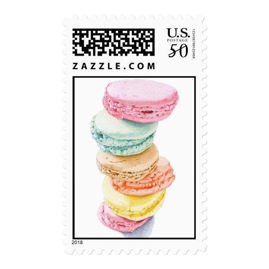 Macarons Stamp
