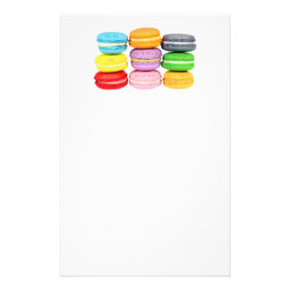 Macarons Stationery