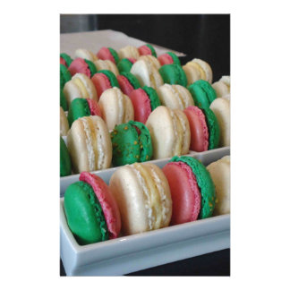 Macarons Stationery