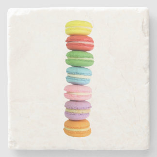 Macarons Stone Coaster