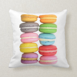 Macarons Throw Pillow