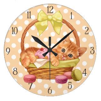 Cupcake Clocks, Cupcake Wall Clock Designs