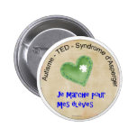 Macaroon I walk for my pupils Pin