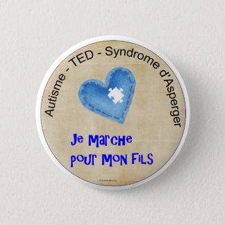 Macaroon I walk for my son Button