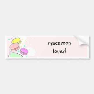 Macaroon Love Bumper Sticker