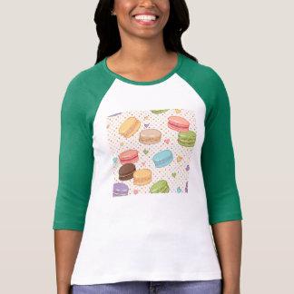 Macaroon,multi colour,polka dot,hearts,pattern,fun tshirts