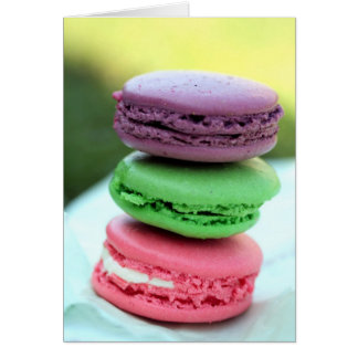 Macaroons Cards