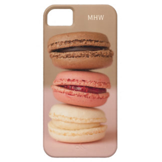 Macaroons custom monogram cases