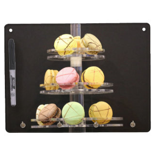 Macaroons Dry Erase Board With Keychain Holder