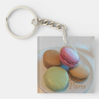 Macaroons from Paris Acrylic Key Chain