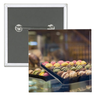 Macaroons in Show Window 2 Pins
