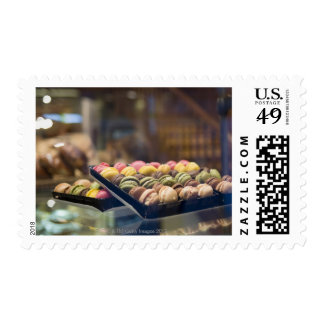 Macaroons in Show Window 2 Stamps