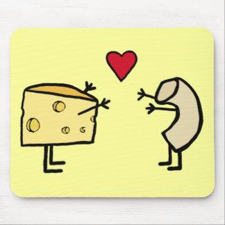 Macarrones con queso alfombrilla de ratones