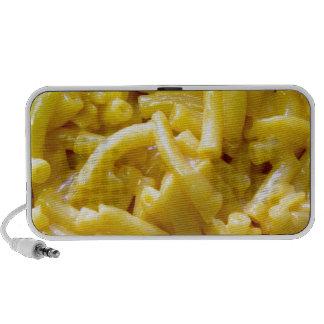 Macarrones con queso mini altavoz