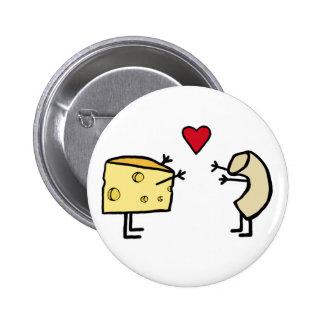 Macarrones con queso pin redondo de 2 pulgadas