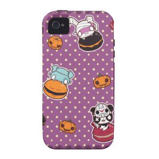 Macarrones de Halloween Vibe iPhone 4 Fundas