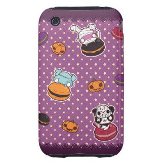 Macarrones de Halloween Tough iPhone 3 Cobertura