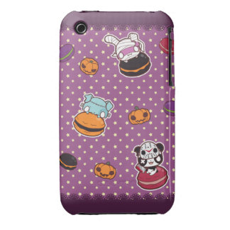 Macarrones de Halloween iPhone 3 Case-Mate Cárcasas