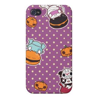 Macarrones de Halloween iPhone 4/4S Funda