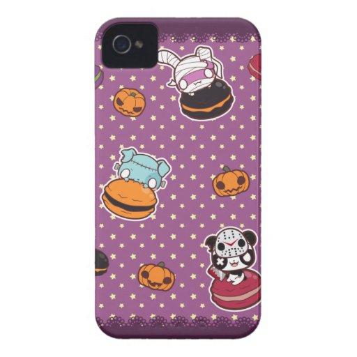 Macarrones de Halloween iPhone 4 Case-Mate Protector