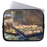 Macarrones en la ventana de demostración 2 manga portátil