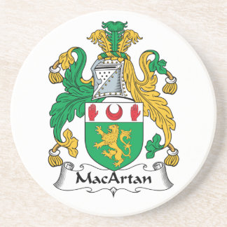 MacArtan Family Crest Drink Coaster