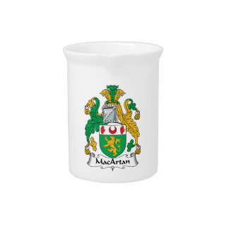 MacArtan Family Crest Drink Pitchers