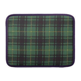 Macarthur clan Plaid Scottish tartan Sleeves For MacBook Air