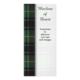 Macarthur clan Plaid Scottish tartan Rack Card