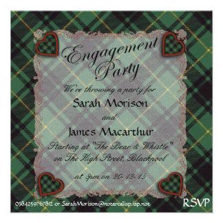 Macarthur Scottish clan tartan - Plaid Announcements