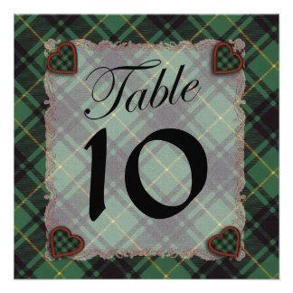Macarthur Scottish clan tartan - Plaid Custom Invite