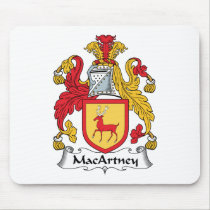 MacArtney Family Crest Mousepad