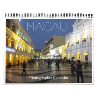 macau 2018 calendar