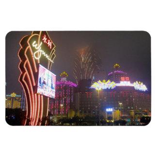 macau casino wynn rectangular photo magnet