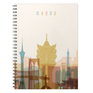Macau, China | City Skyline Notebook