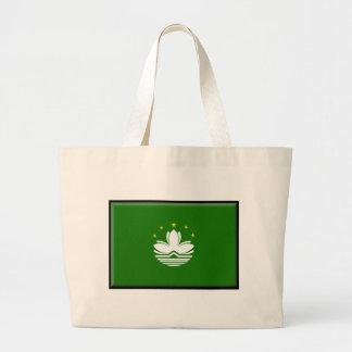 Macau (China) Flag Bags
