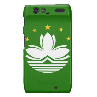 Macau China Flag Motorola Droid RAZR Case
