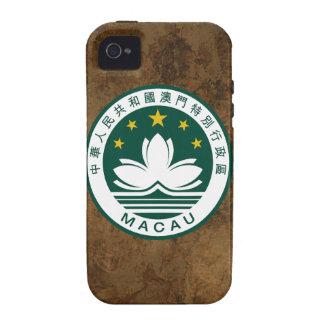 Macau (China) National Emblem Case-Mate iPhone 4 Case