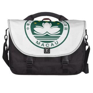 Macau (China) National Emblem Laptop Bag