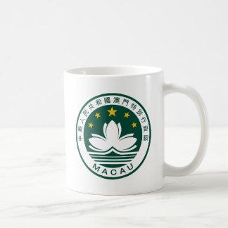 Macau (China) National Emblem Classic White Coffee Mug