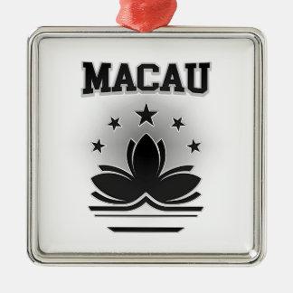Macau  Coat of Arms Metal Ornament