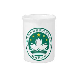 macau emblem beverage pitcher